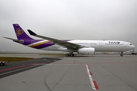 my flight with thai airways