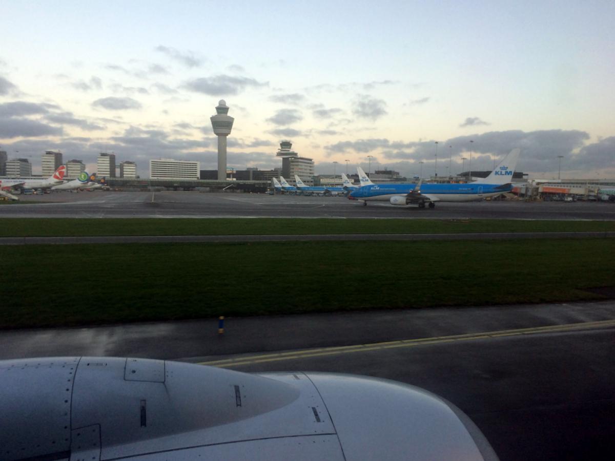 Аэропорт Амстердам Схипхол
