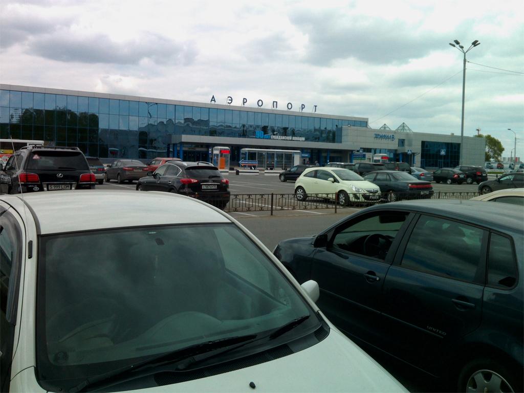 Терминал В аэропорта Омск