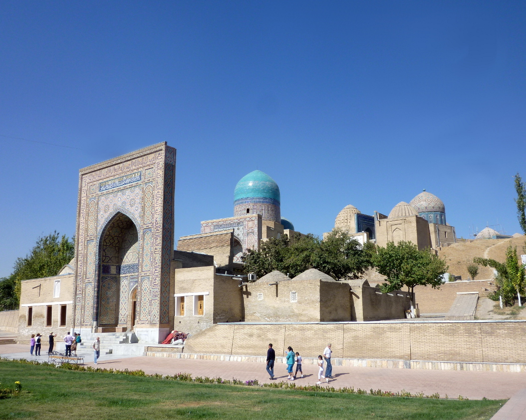 Sights of Samarkand: Shar-i-Zinda necropolis