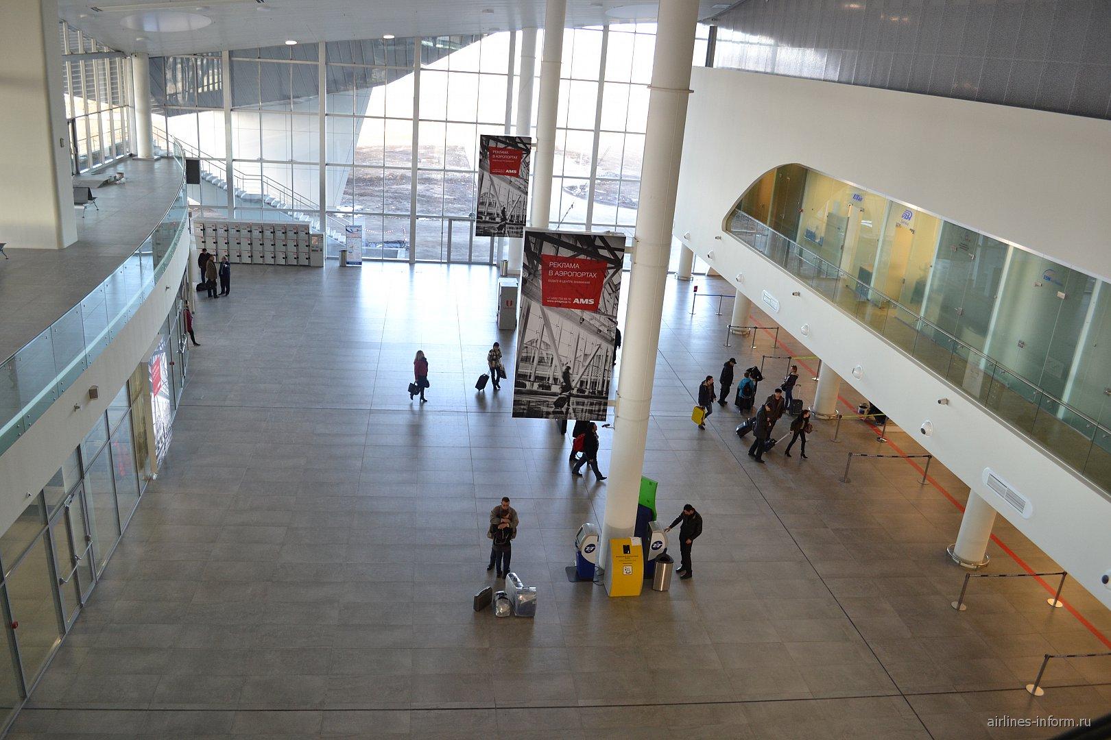 В терминале 1 аэропорта Самара Курумоч