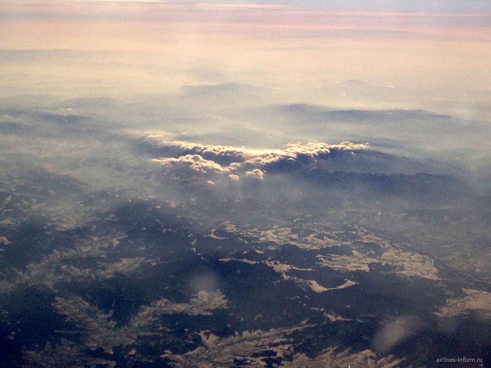 Облака над Татрами