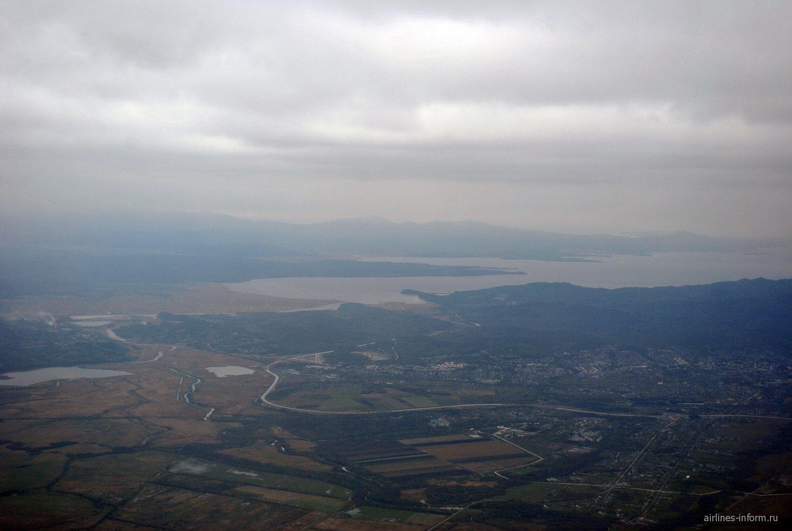 Посёлок Кневичи и окраина города Артём
