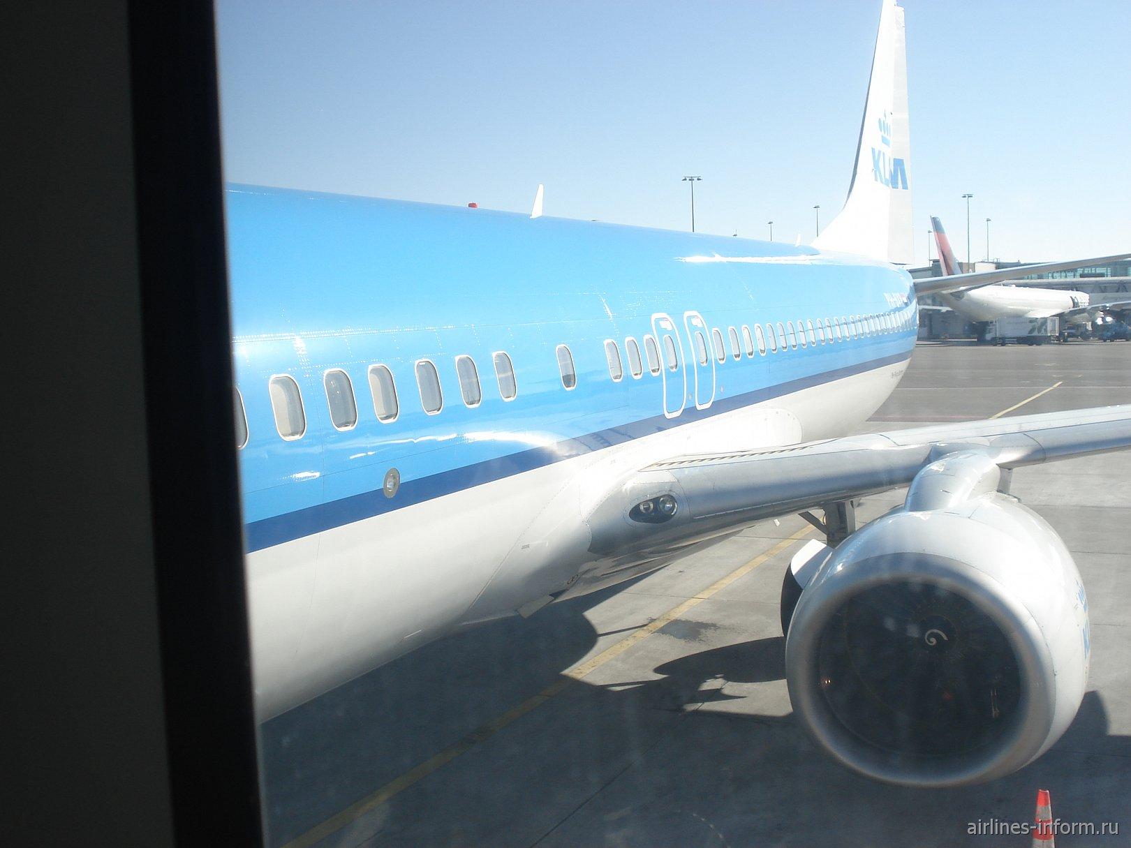 Европейские широты. Часть 4. Из Амстердама в Москву (AMS-SVO) c KLM на Boeing 737.
