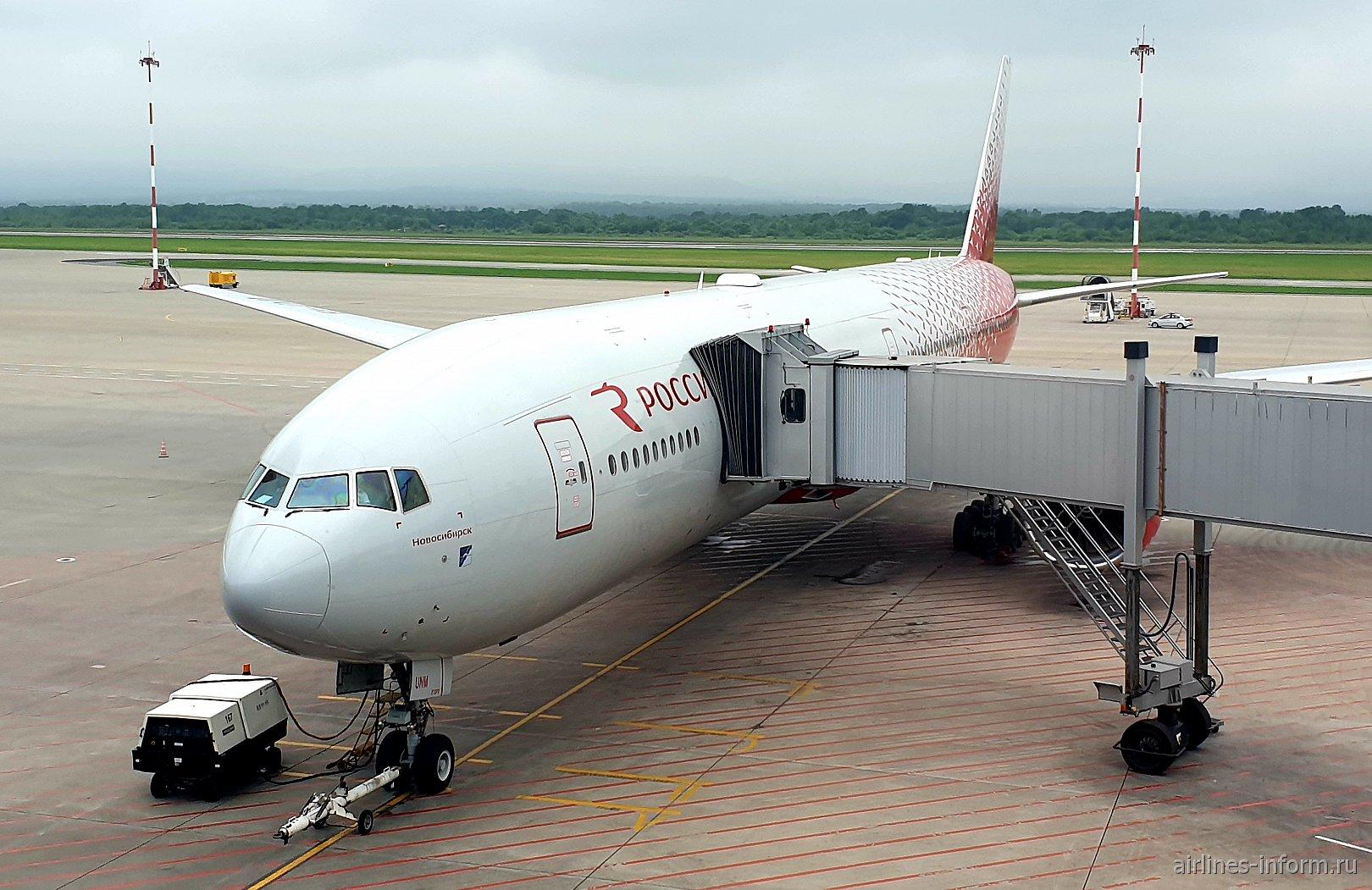 От моря Охотского до моря Адриатического ч.2 Владивосток (VVO)-Москва (SVO). а/к Россия Boeing 777-300 (бизнес класс).