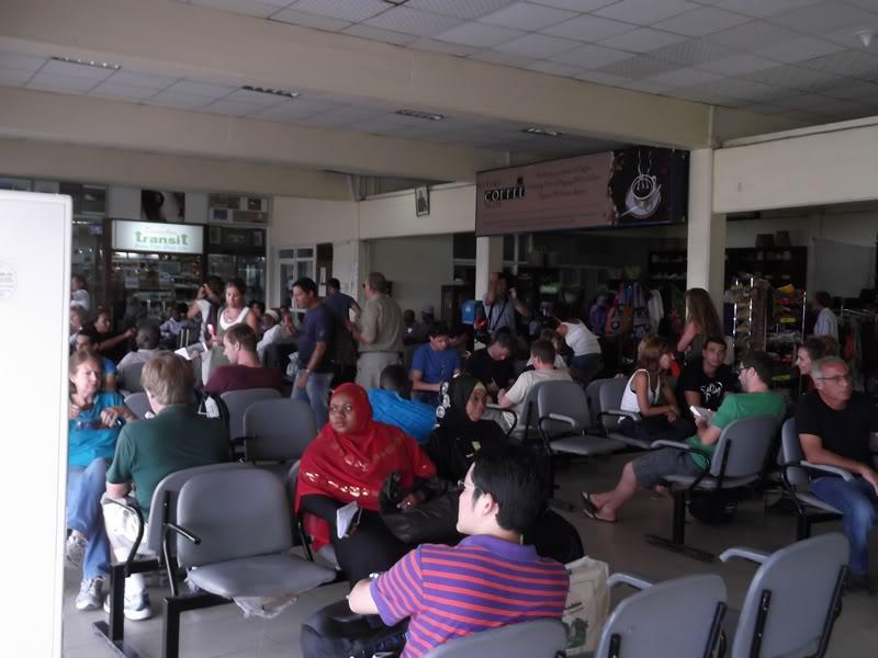 Накопитель аэропорта Занзибар