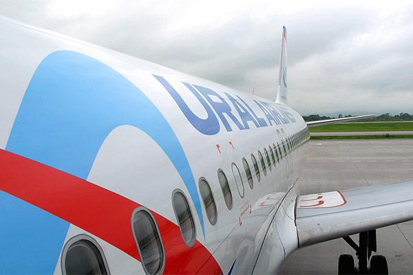 Из Владивостока (VVO) в Красноярск (KJA) Уральскими Авиалиниями на A320