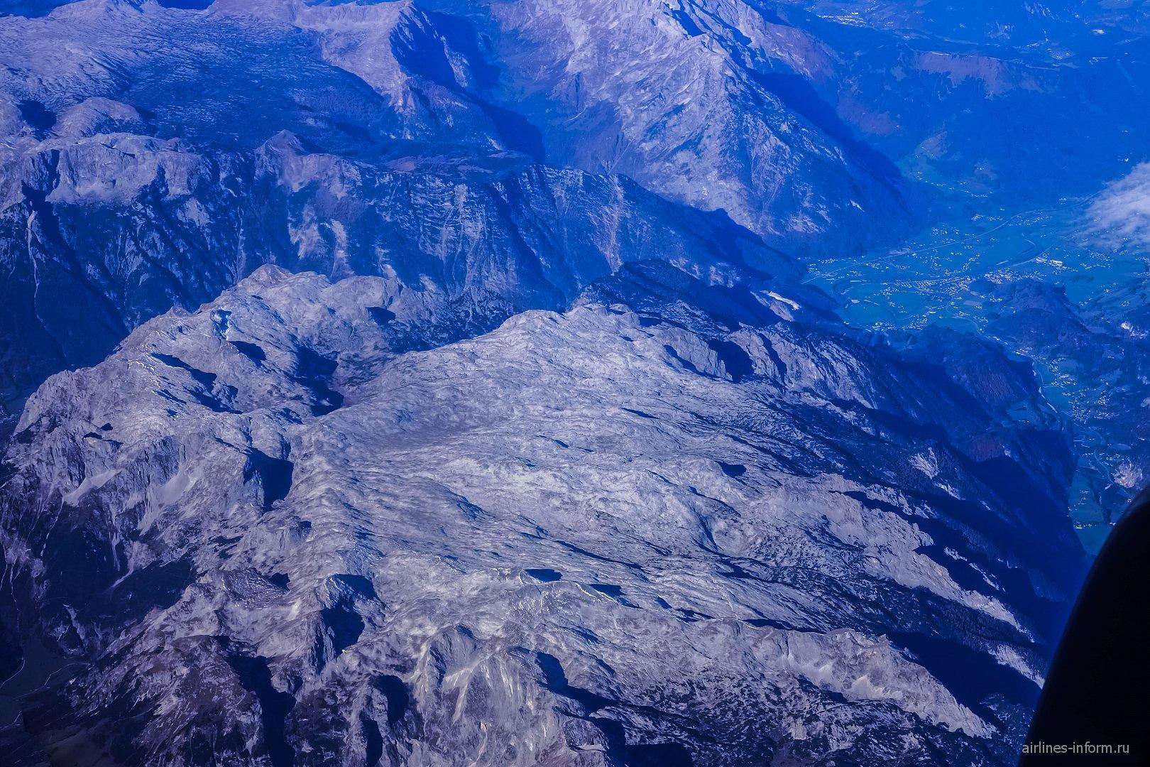 Горы Альпы в Австрии
