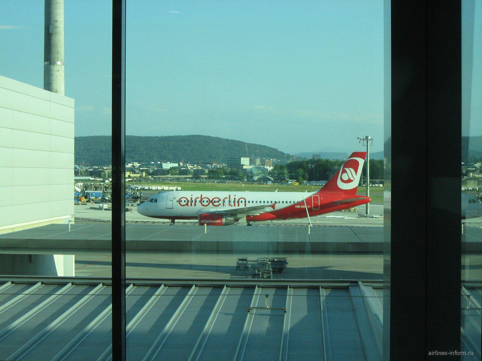A320 Air Berlin-Belair