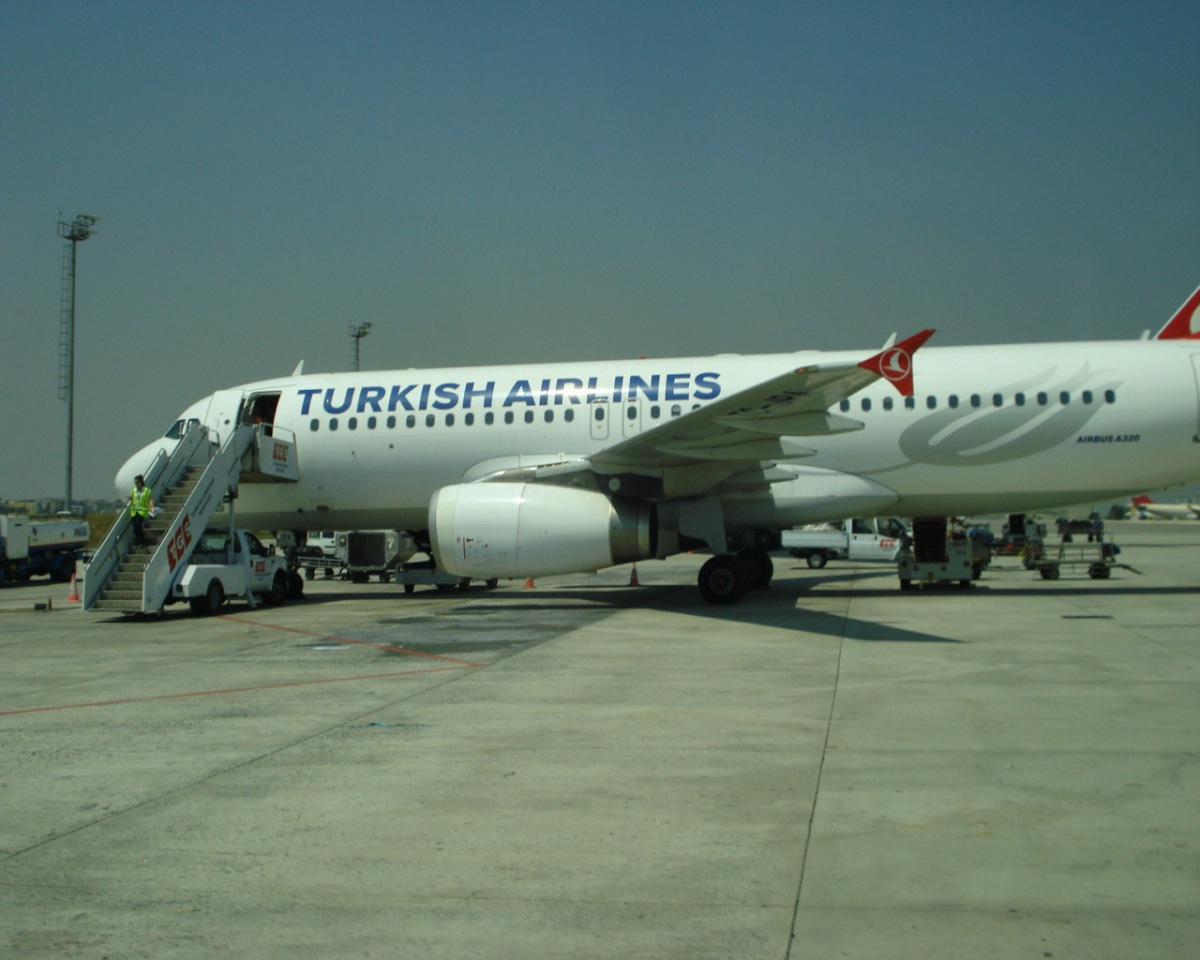 Airbus A320 of Turkish Airlines