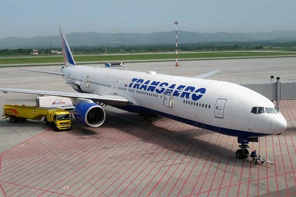 Петербург - Владивосток с  Трансаэро Боинг 777-300, июнь 2013