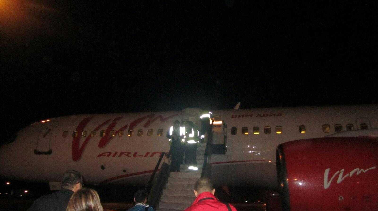 Боинг 757-200 авиакомпании Вим-Авиа, рейс 352 Краснодар-Москва-Новый Уренгой. Часть первая.