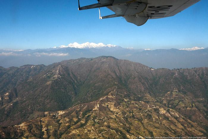 Гималаи с воздуха