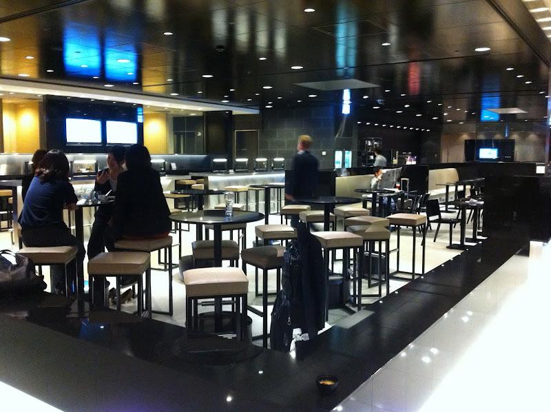 Business lounge in Tokyo Haneda Airport