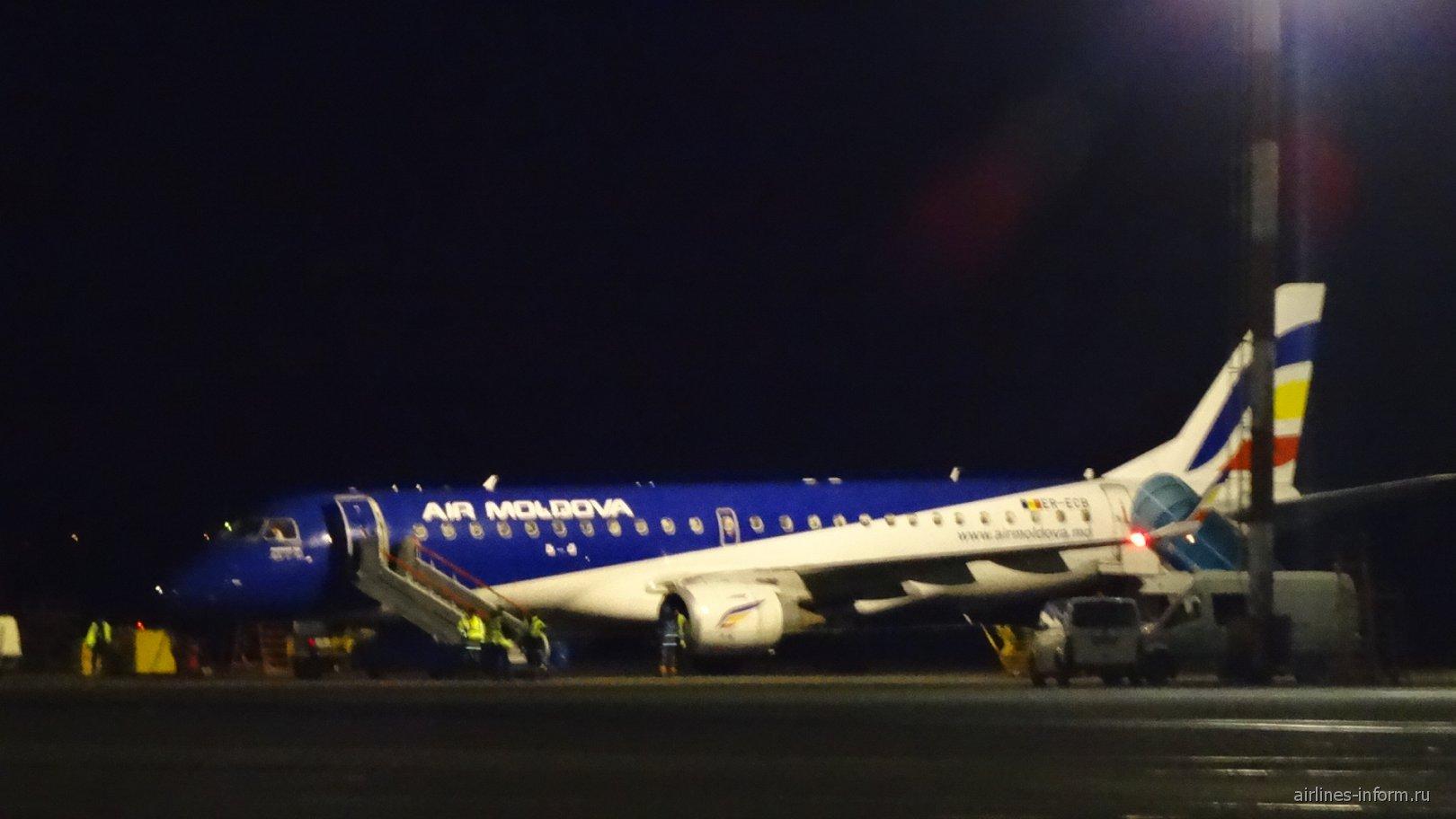 Перелет Кишинев KIV – Венеция VCE с «Air Moldova» в феврале 2015.