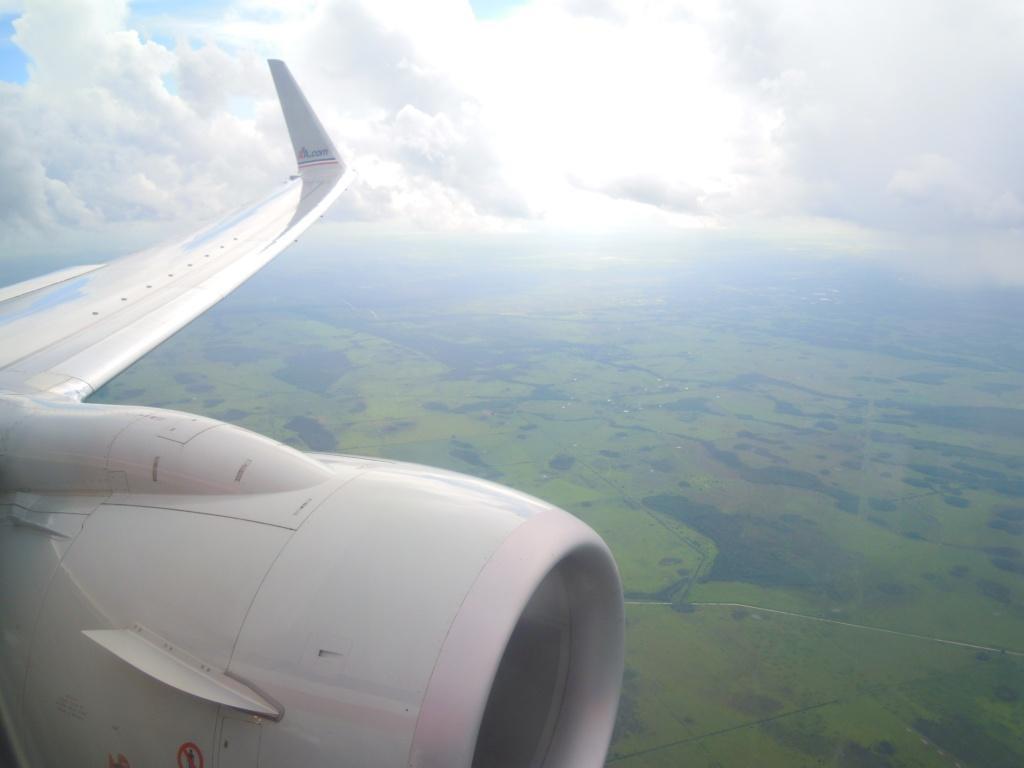 Descending to Orlando airport