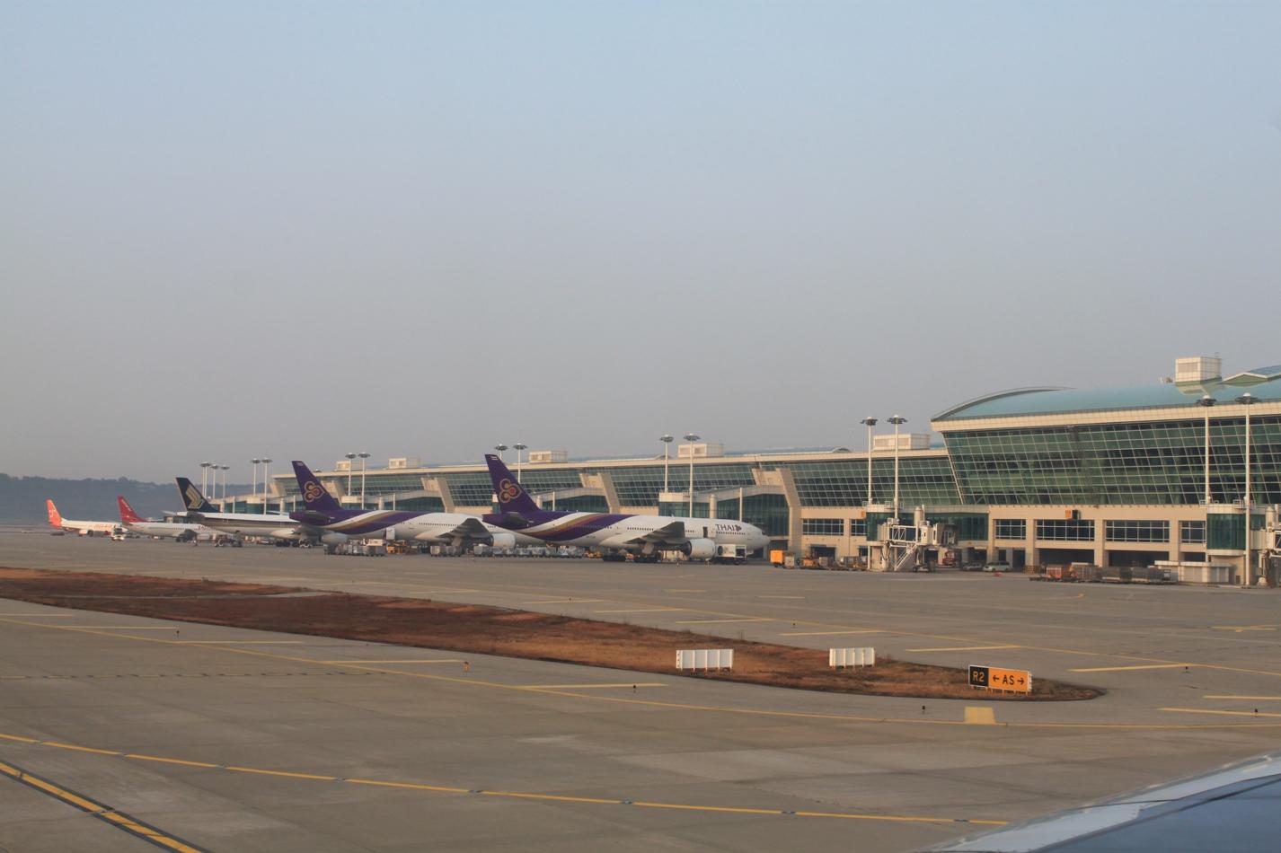 Пассажирский терминал аэропорта Сеул Инчхон