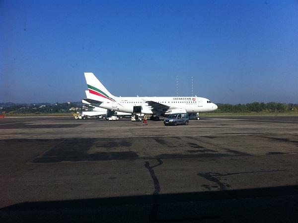 Airbus A319 авиакомпании Татарстан