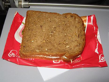 Питание на рейсе Мюнхен-Москва авиакомпании airberlin