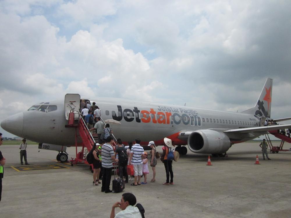 Самолет Боинг-737-400 авиакомпании Jetstar Pacific