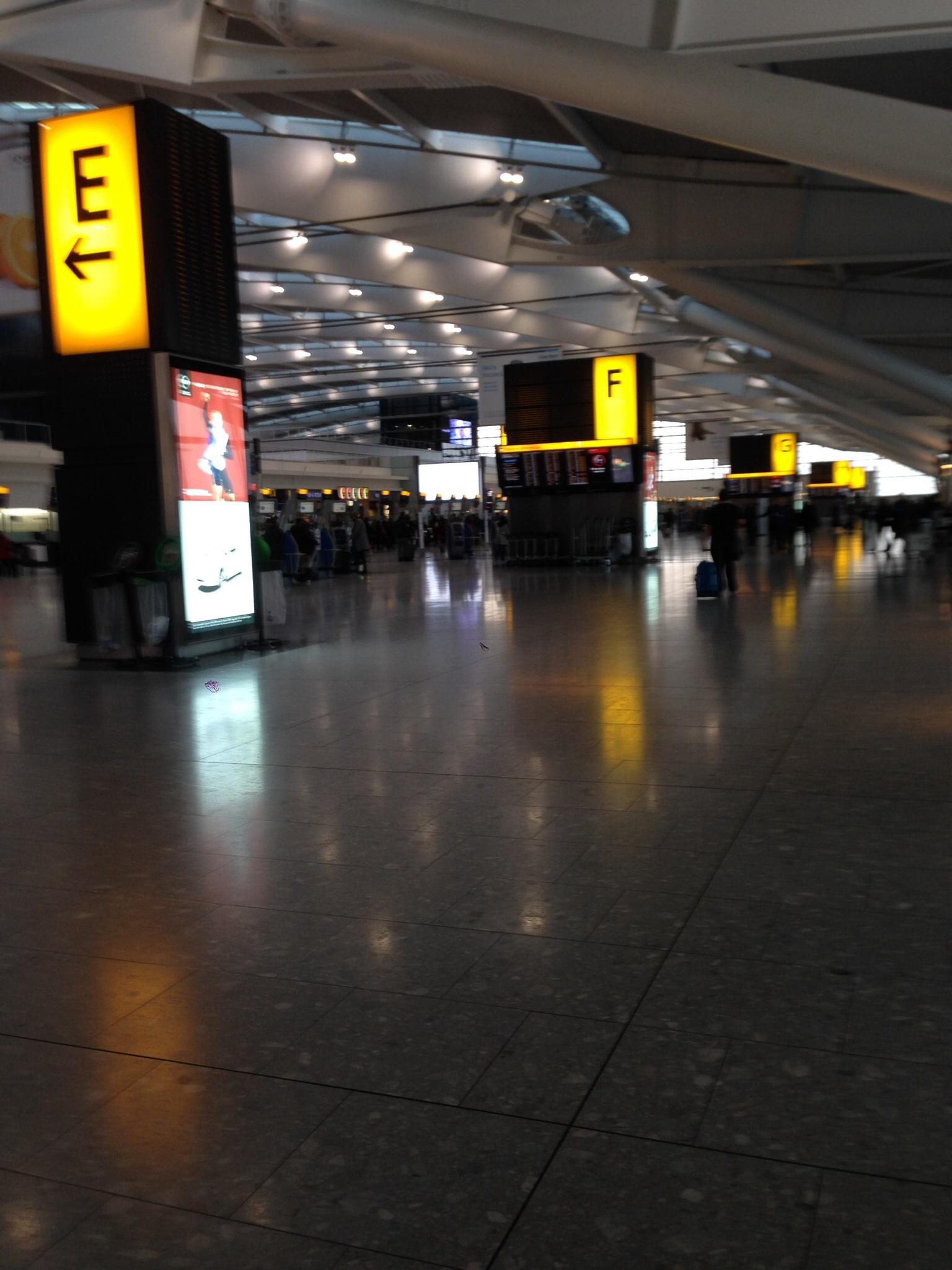 Терминал 5 аэропорта Хитроу