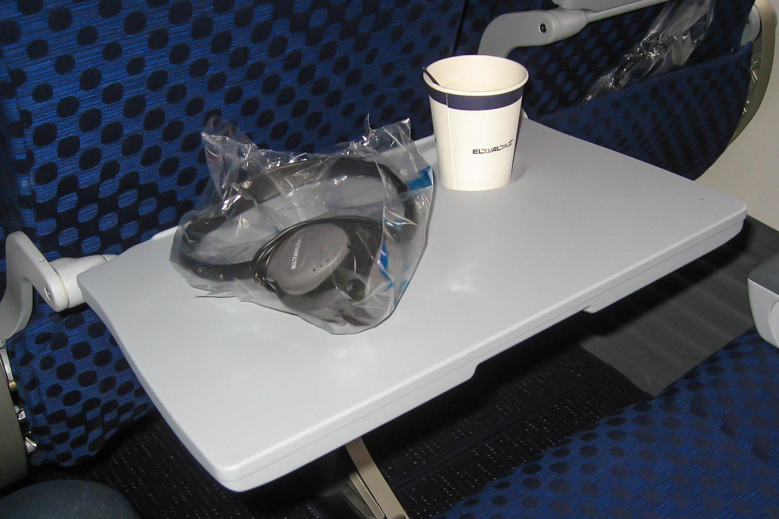 Система развлечений в самолете Боинг-737 авиакомпании El Al
