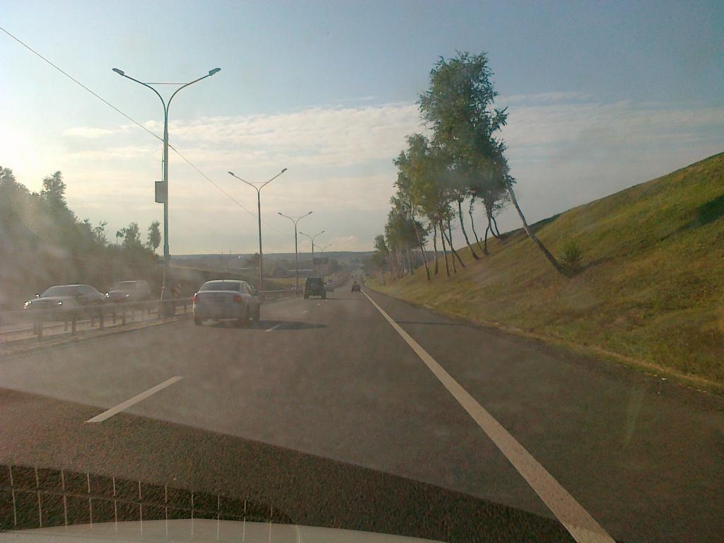 Дорога в аэропорт Домодедово