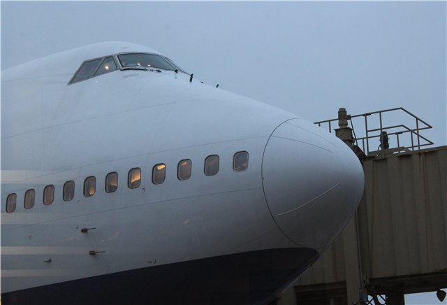 Боинг-747-300 авиакомпании Трансаэро