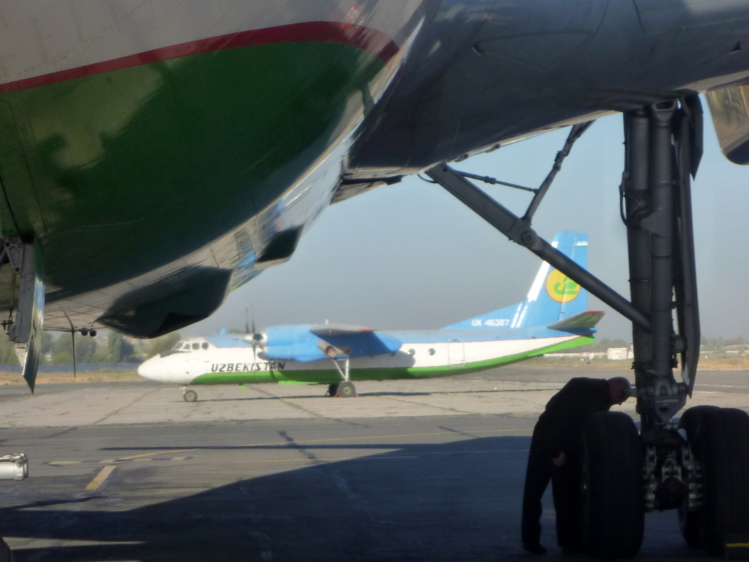 Antonov An-24 of Uzbekistan Airways