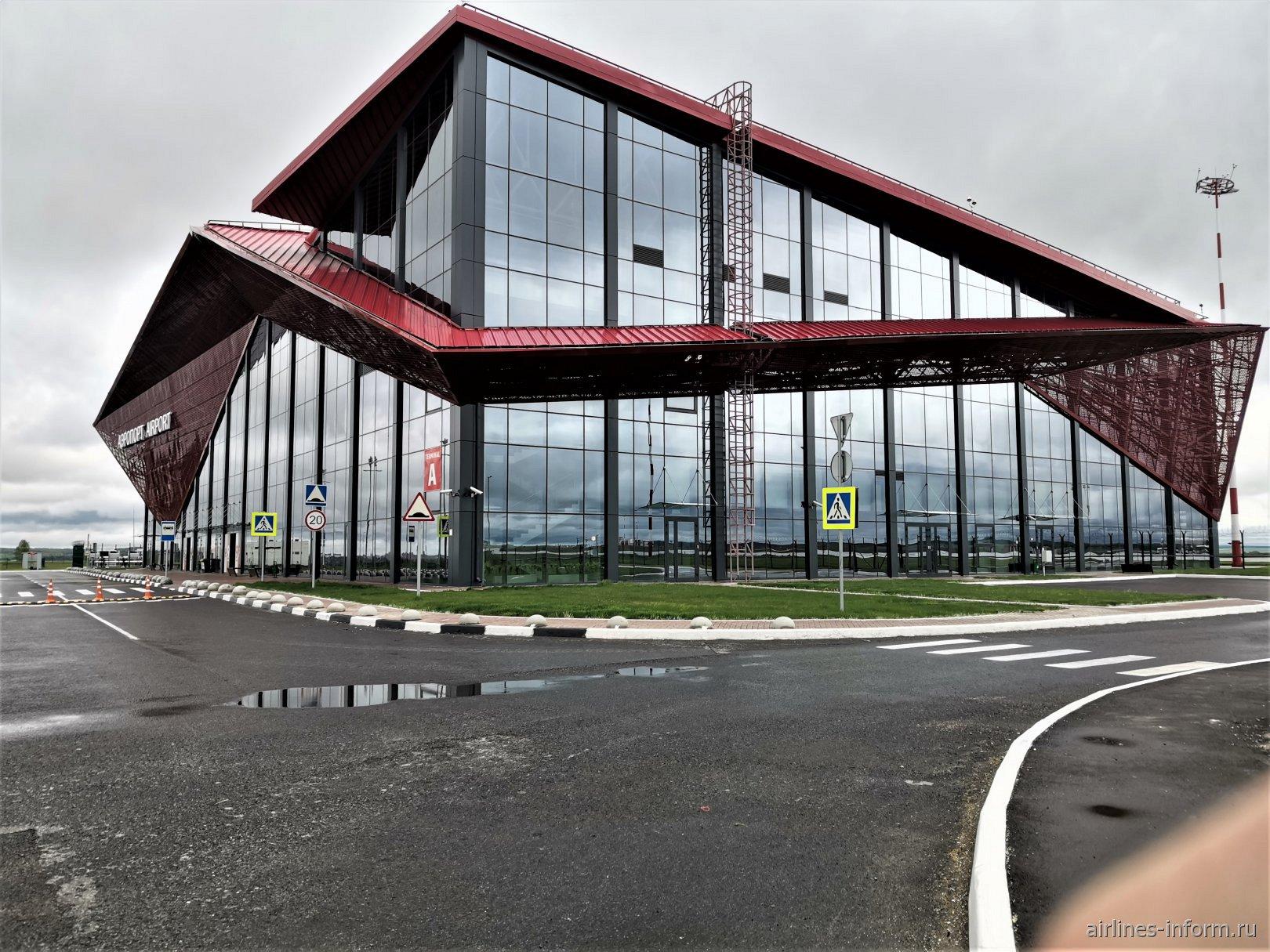 Пассажирский терминал А внутренних линий аэропорта Саранск