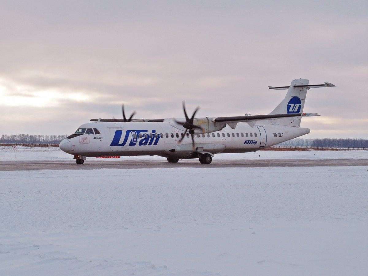 ATR-72 VQ-BLF авиакомпании UTair в аэропорту Уфа