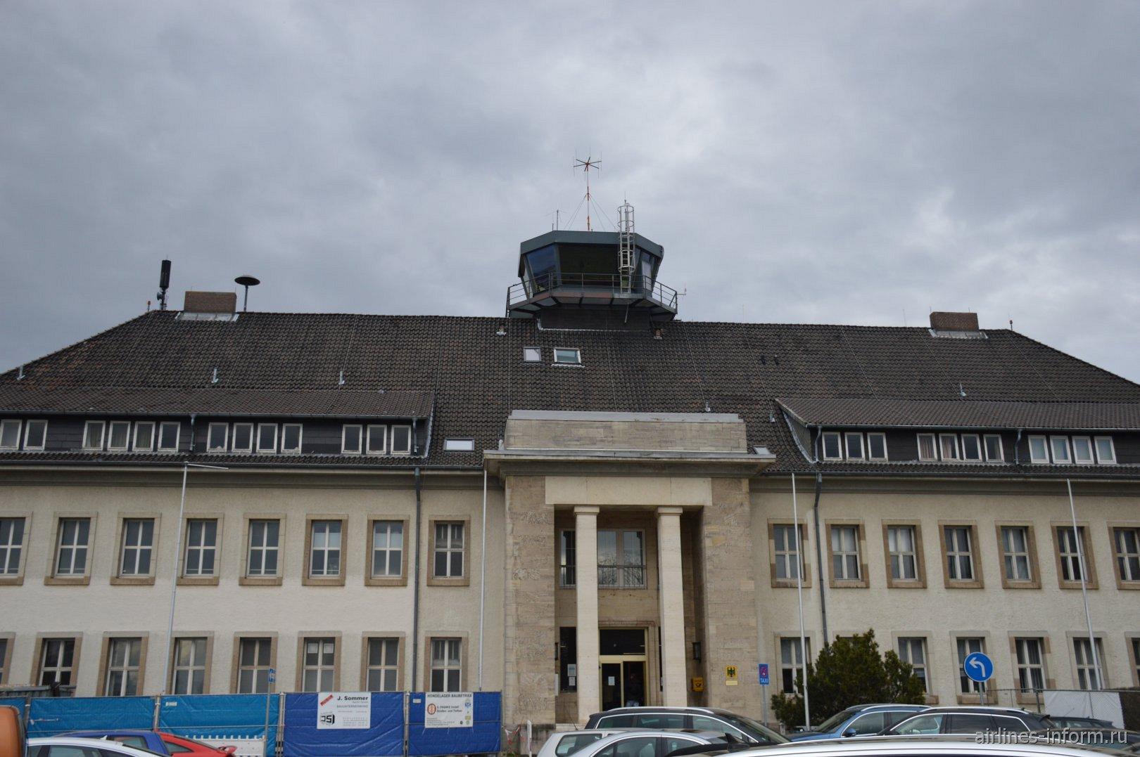 Пассажирский терминал аэропорта Брауншвайг-Вольфсбург