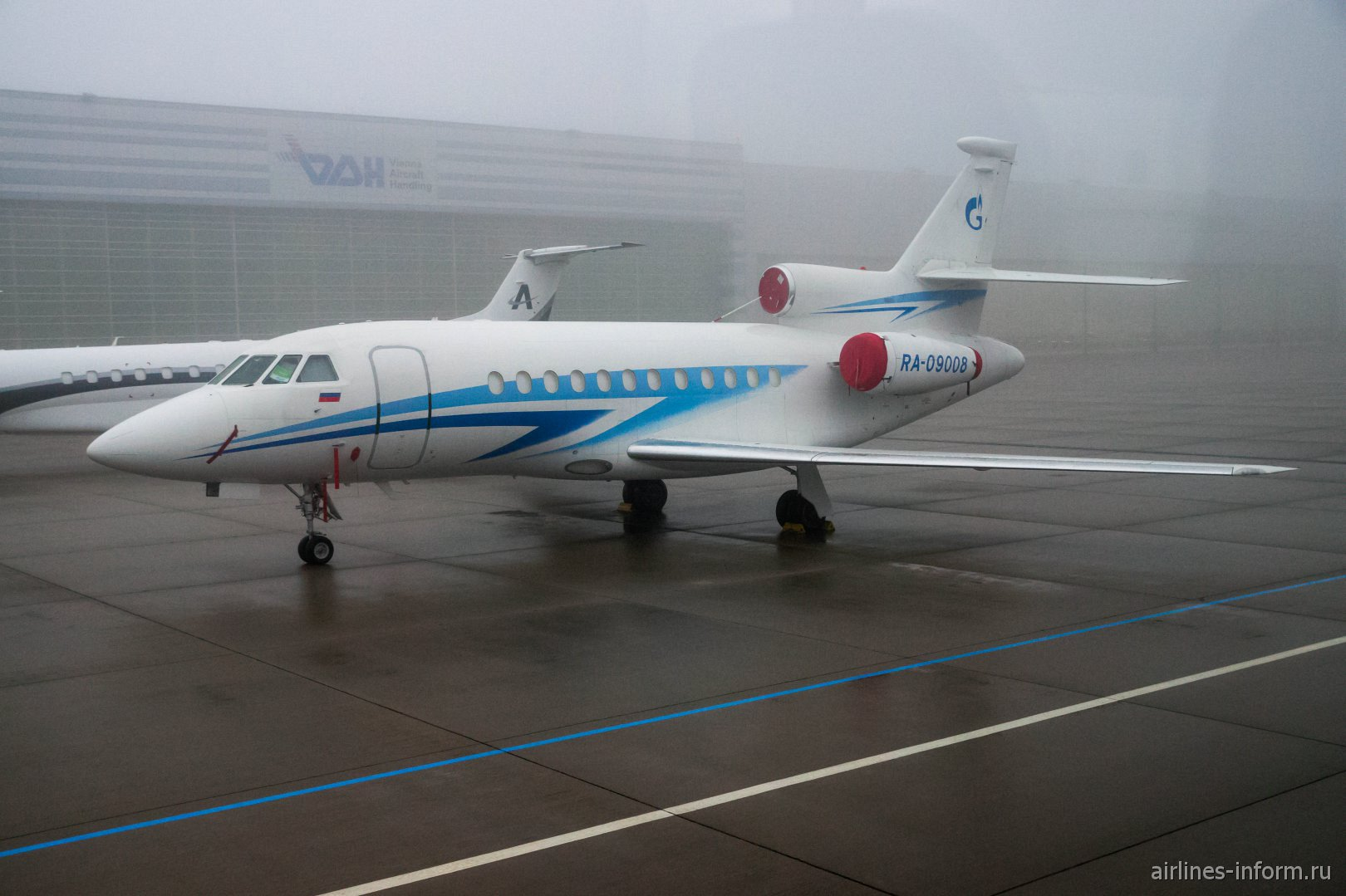 Dassault Falcon 900EX авиакомпании