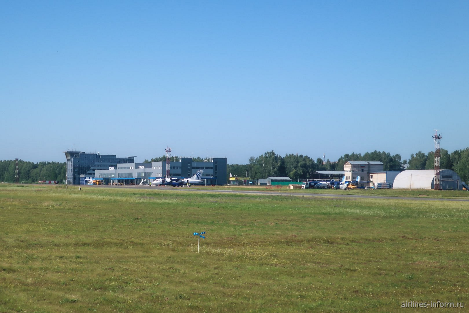 Перрон Томского аэропорта