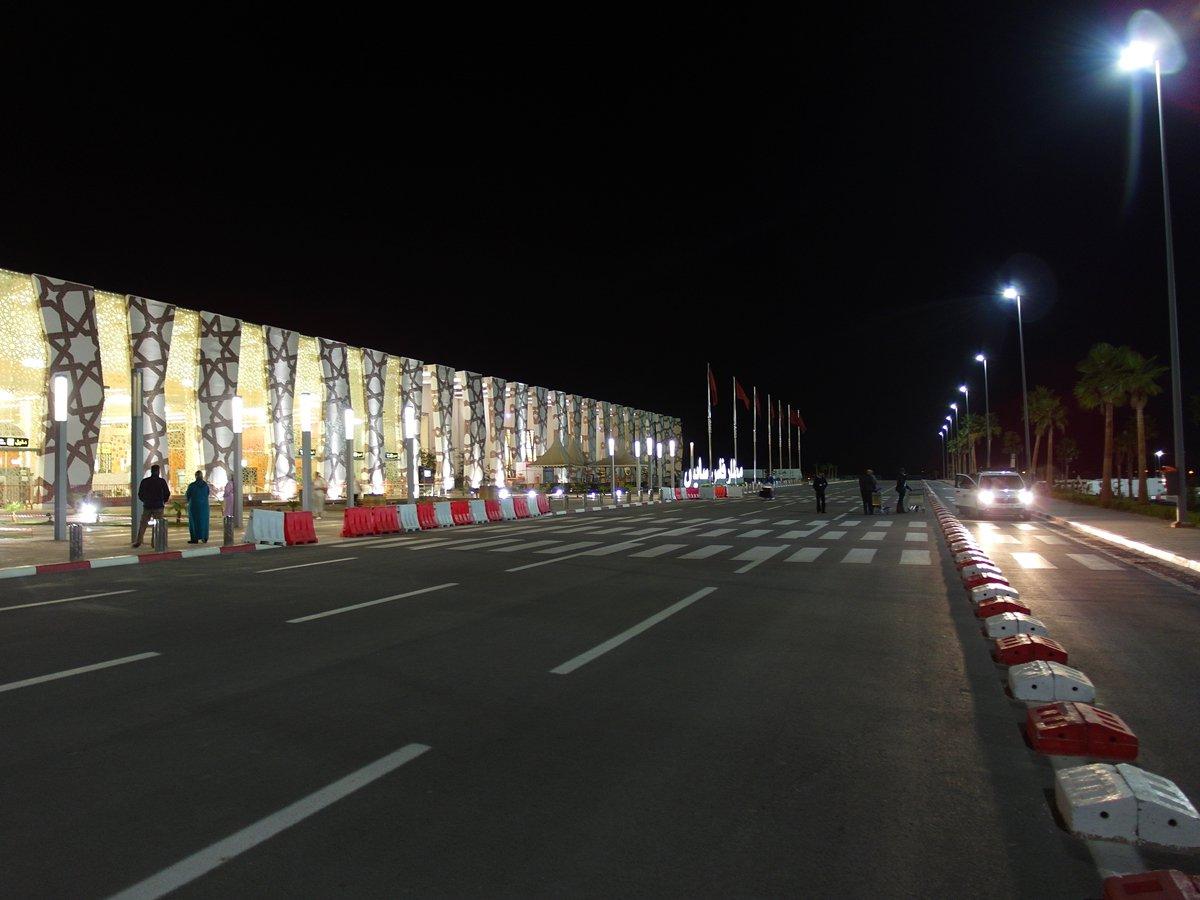 Привокзальная площадь аэропорта Фес-Саи