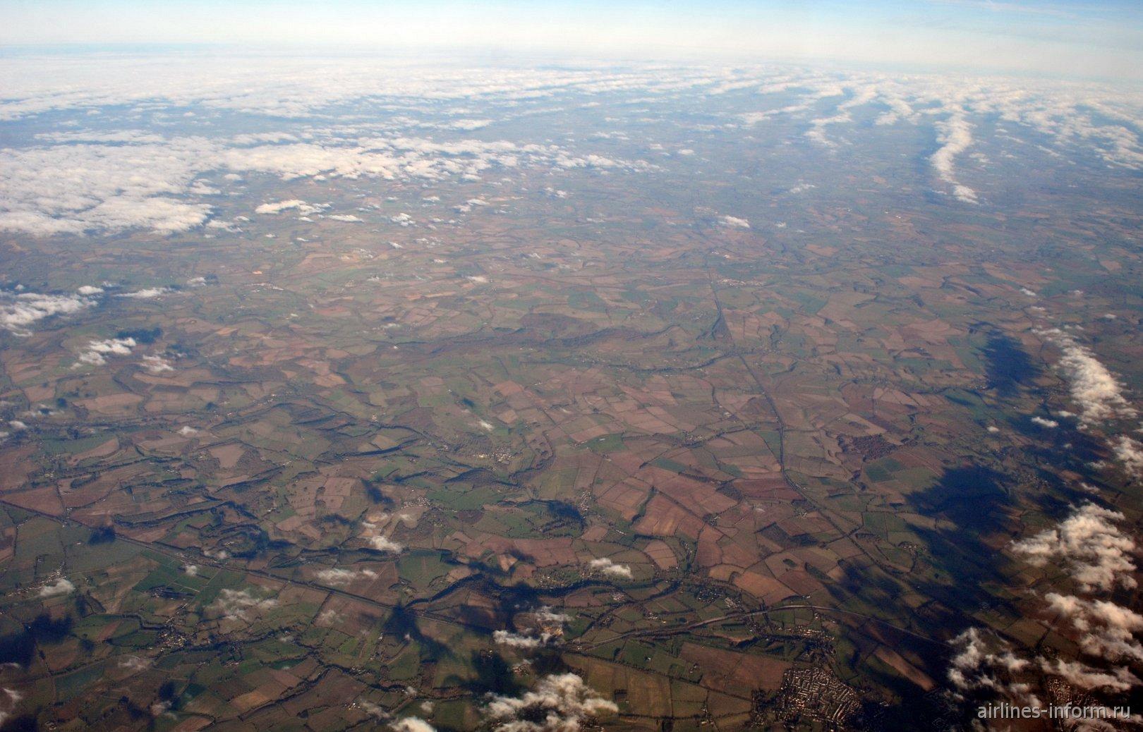 В полете над Англией