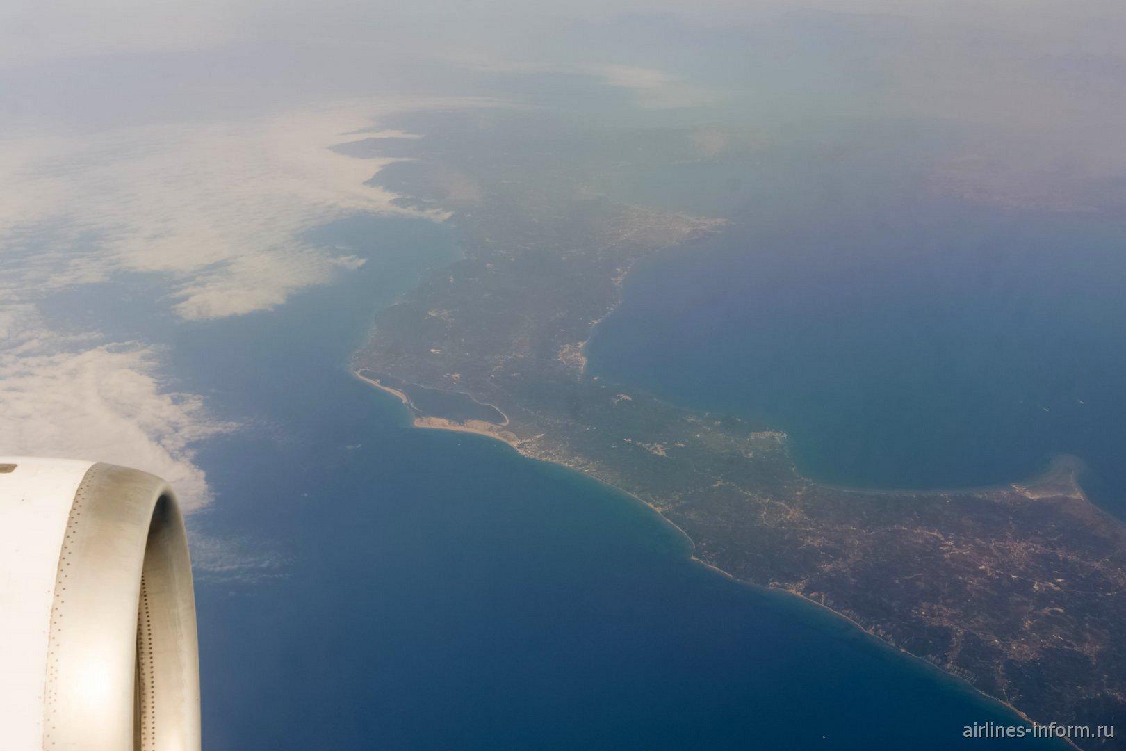 Остров Корфу в Ионическом море