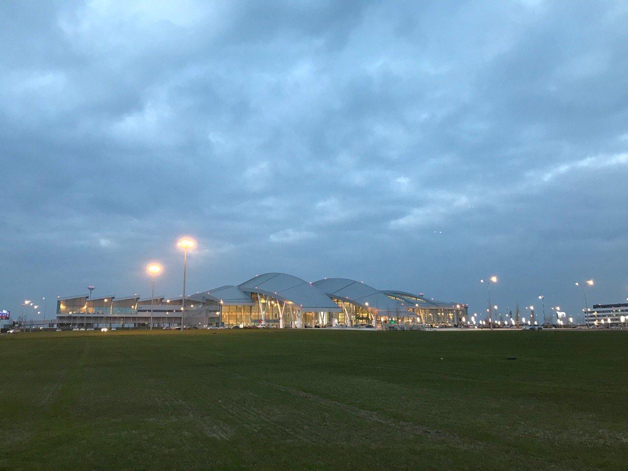 Пассажирский терминал аэропорта Платов в Ростове-на-Дону