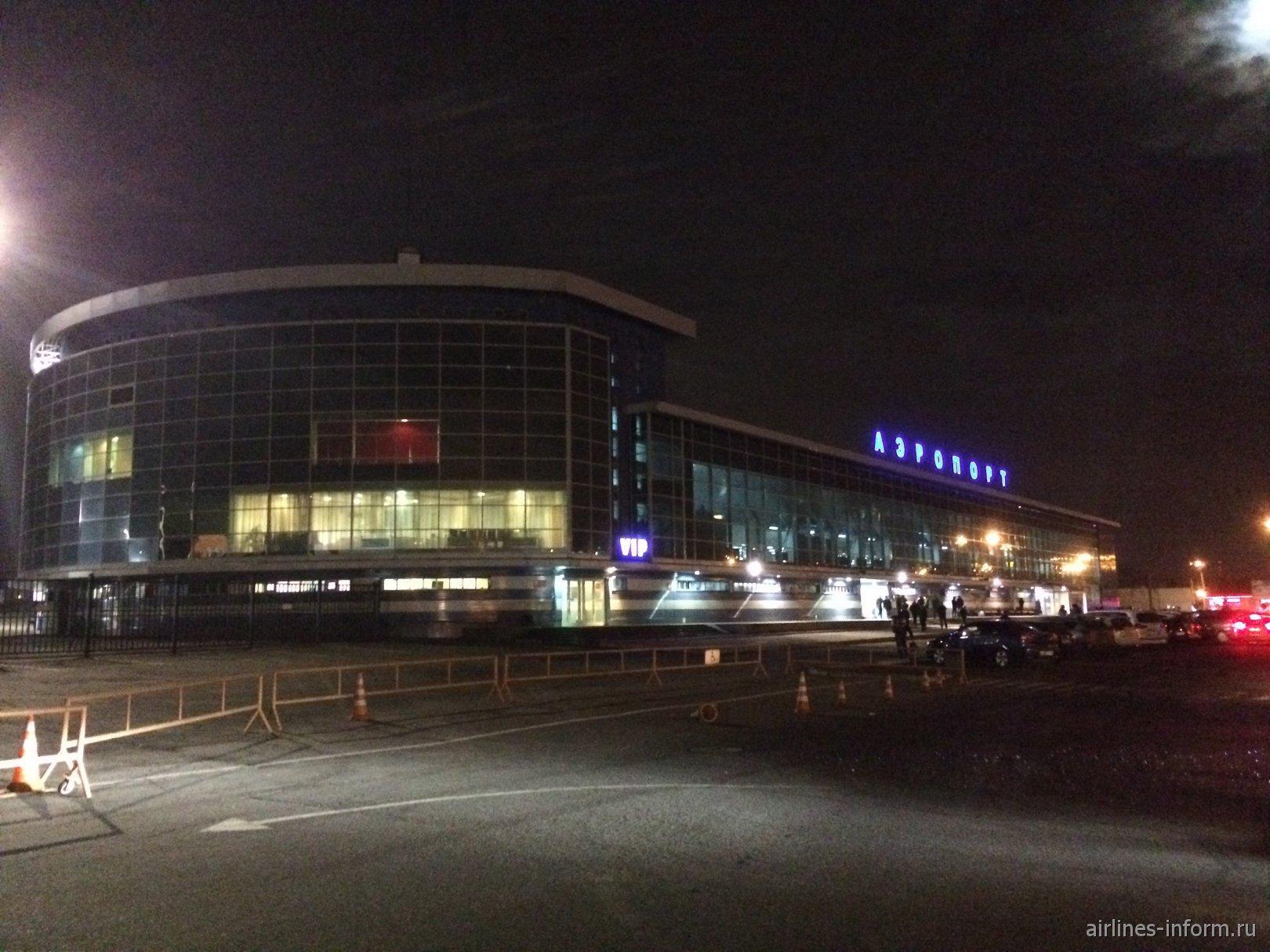 Терминал внутренних линий аэропорта Иркутск