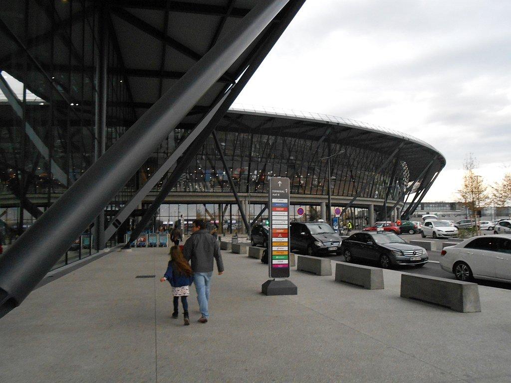 Терминал 1 Hall B аэропорта Лион Сент-Экзюпери
