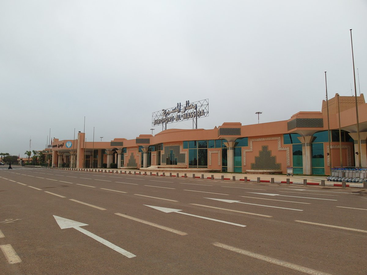 Аэровокзал аэропорта Агадир Аль-Массира