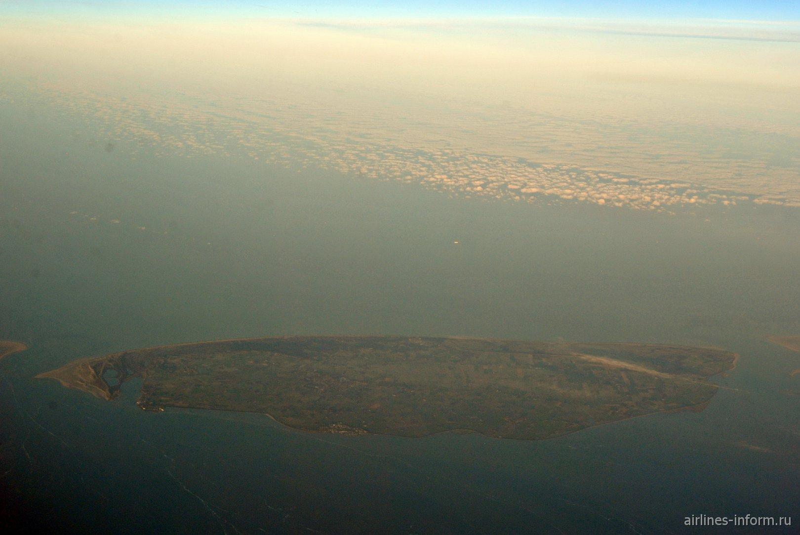 Нидерландский остров Тессел из архипелага Фризских островов