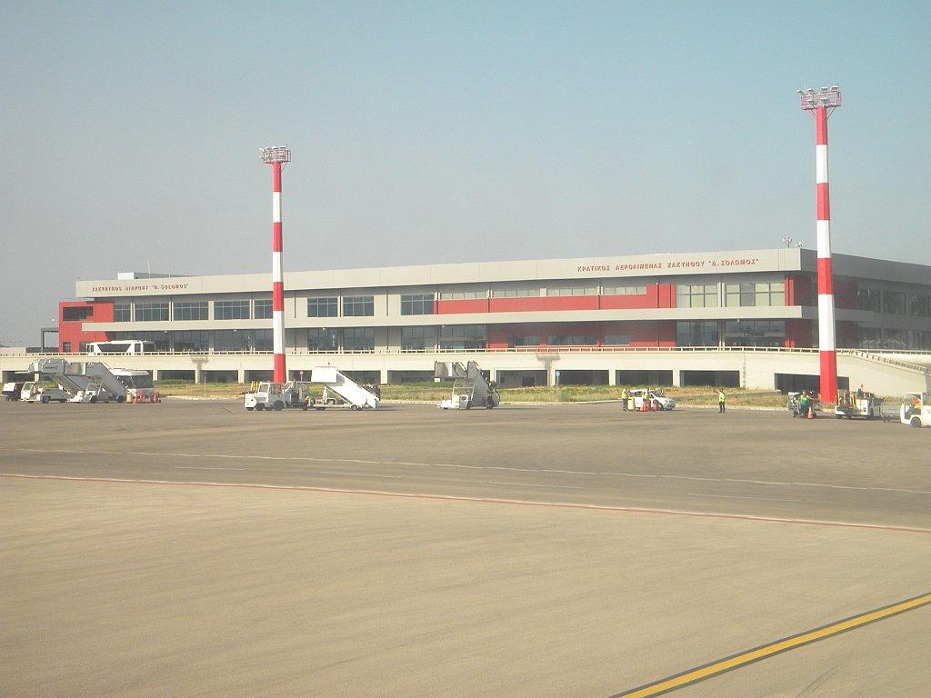 Аэровокзал аэропорта Закинф Дионисий Соломос