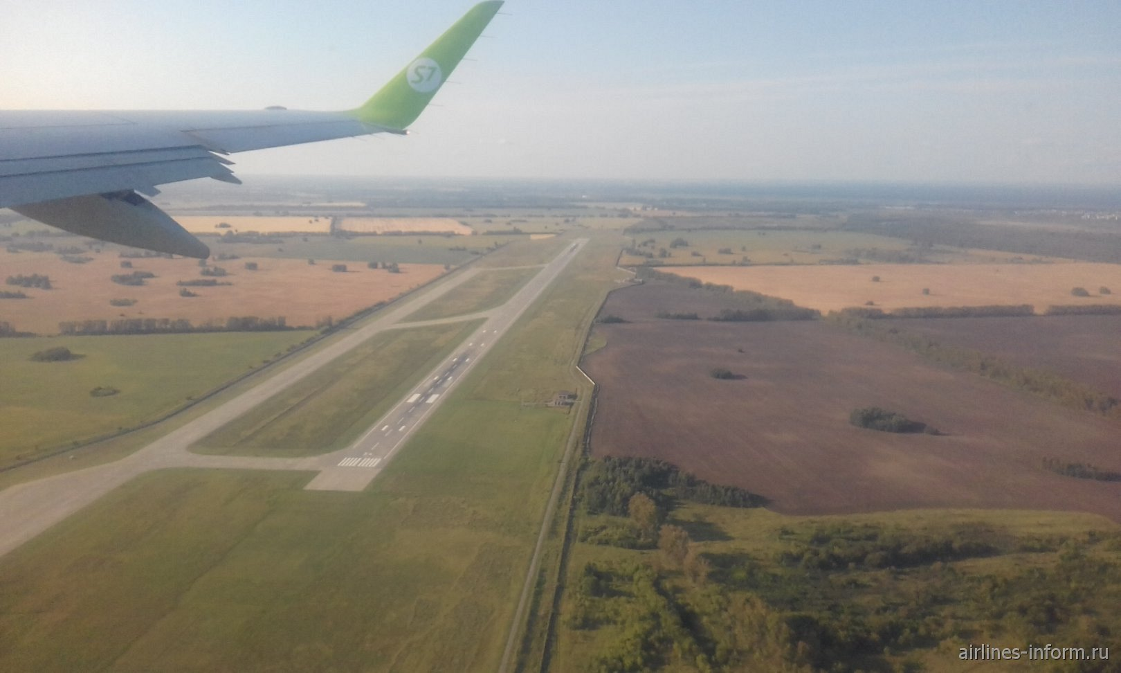 первый взлет в Омск