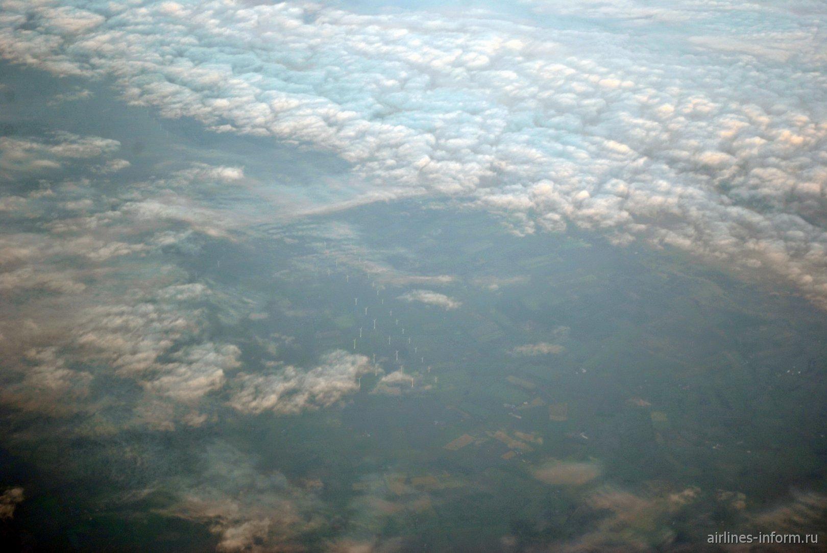 Фото облаков над Данией