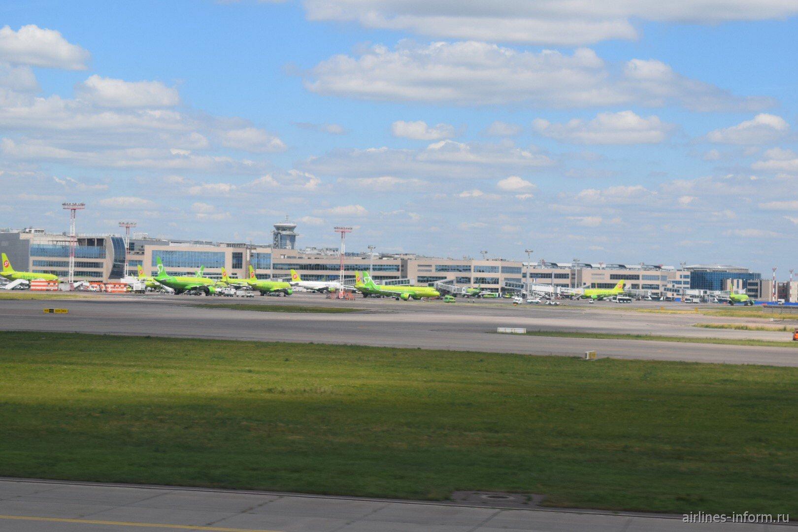 Аэровокзальный комплекс аэропорта Домодедово