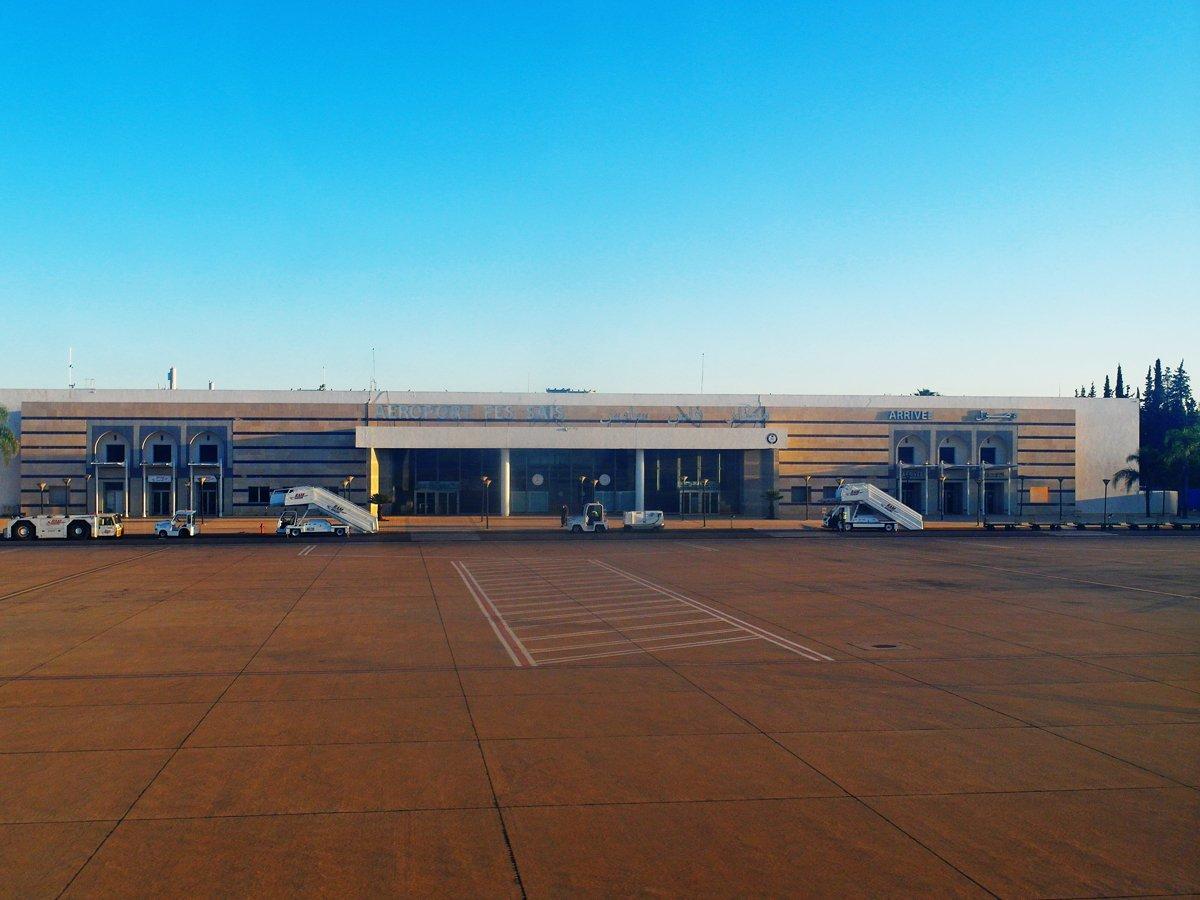 Старый пассажирский терминал аэропорта Фес-Саи