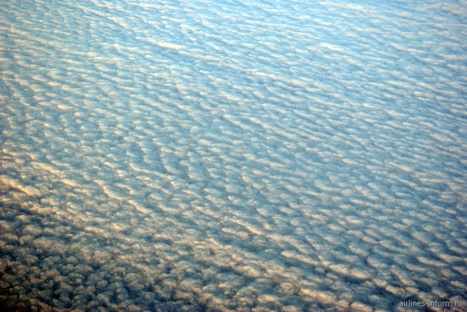 Облачность над Северным морем