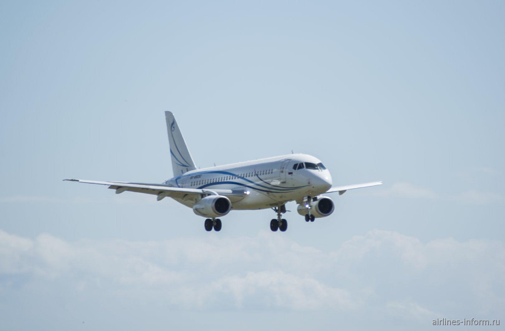 Сухой Суперджет-100 RA-89050 авиакомпании