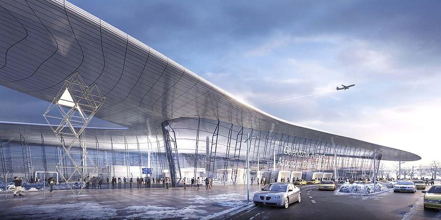 Проект нового пассажирского терминала аэропорта Геленджик